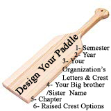 Design Your Own Custom Paddle or Plaque
