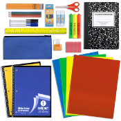 24 Piece School Supply Kit