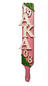 Alpha Kappa Alpha Soroity Custom Paddle Design- 15""