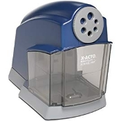 X-ACTO School Pro Classroom Electric Pencil Sharpener, Blue/Grey