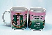Alpha Kappa Alpha Sorority Ceramic Coffee Mug