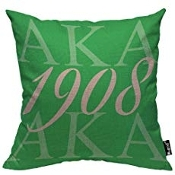 AKA 1908 Throw Pillow