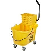 Commercial Mop Bucket on Wheels