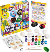 STEM Activity Rock Painting Outdoor or Indoor Kit, Ages 3 and up