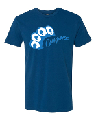 Cougar Paw Design_Navy T-Shirt Color