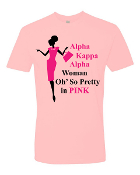 O So Pretty In Pink T-Shirt Design_Pink